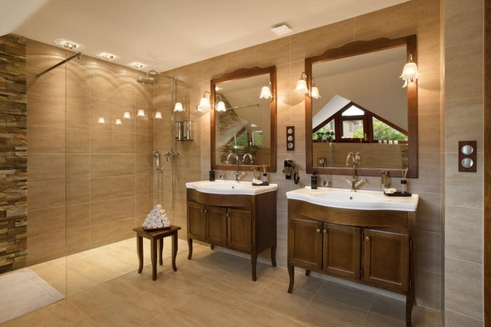 Wellness & Spa Boutique Hotel Villa Memories luxusní koupelna