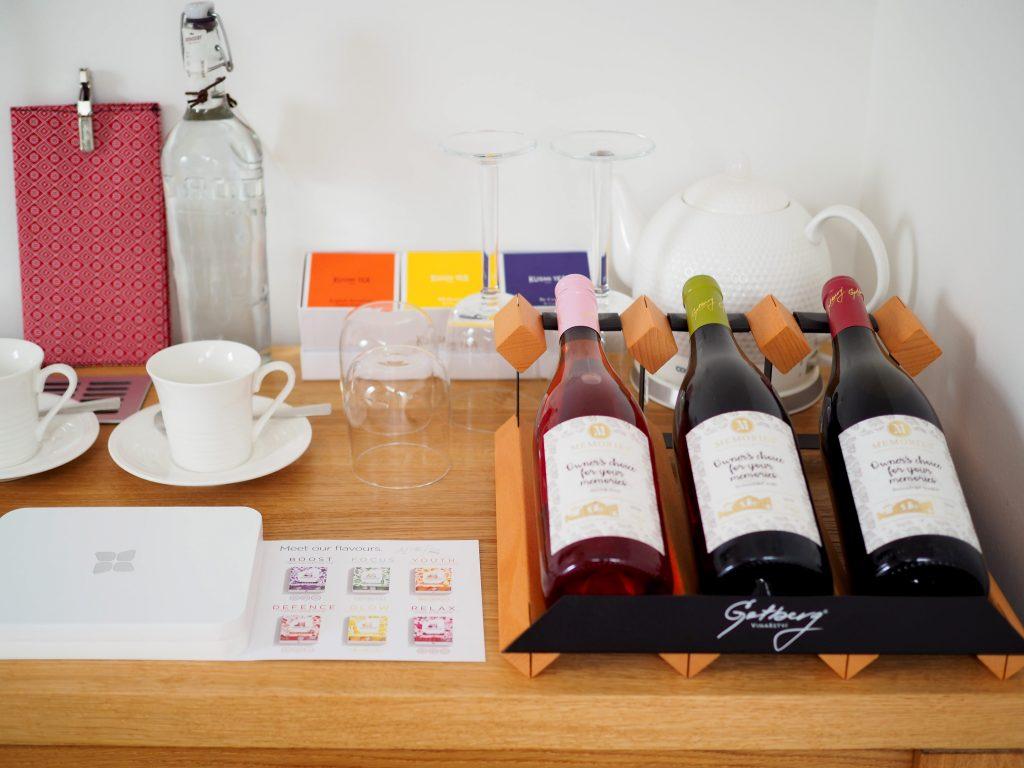 Wellness & Spa Boutique Hotel Villa Memories, vlastní víno